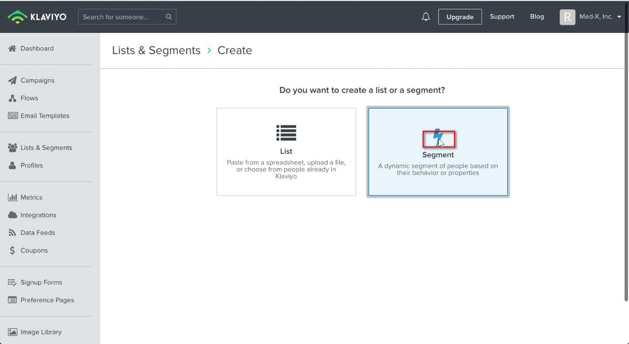 """Click """"Segment"""""""